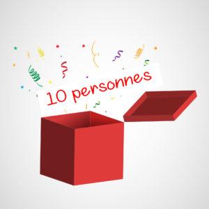 Box 10 Personnes Buffet dînatoire