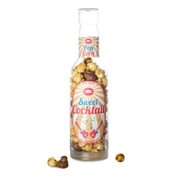 Bouteille Popcorn caramel & chocolat 27cm