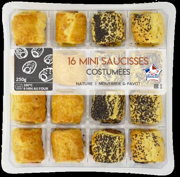 Mini Saucisses en cage 16 pièces