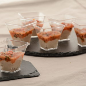 Verrine Tartare de Thon et Tomates 12 pièces