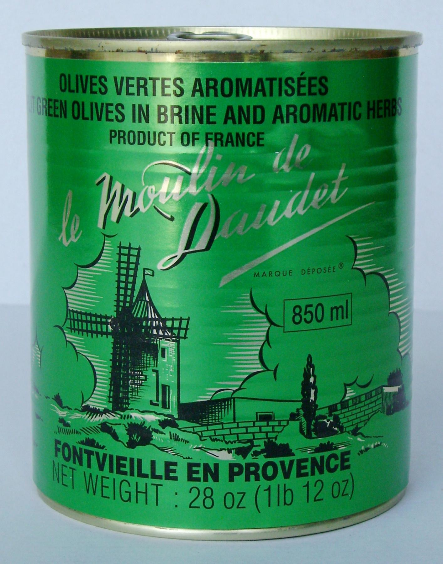 Olives Vertes 500 gr