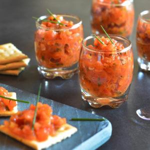 Tartare de tomates 1.5 kg